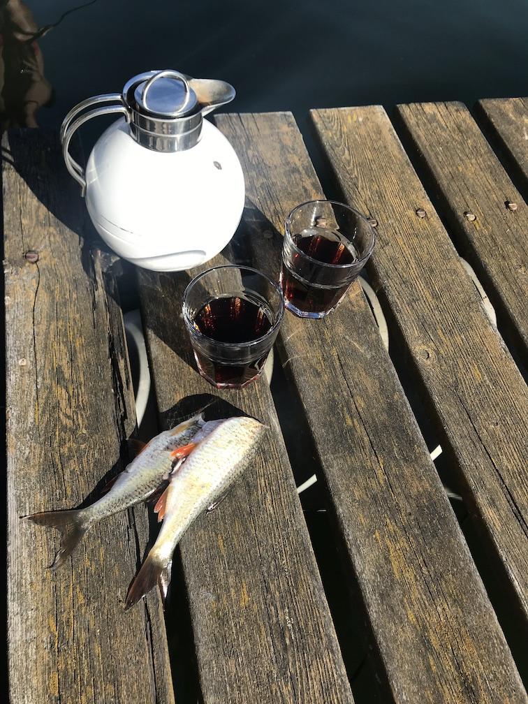 Tee und Fang