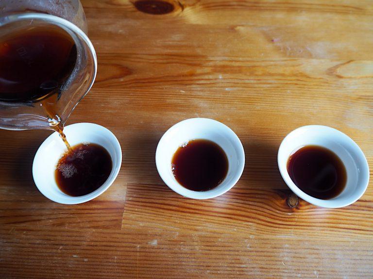 Pu Erh Tee mit Freunden